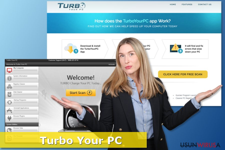 Zrzut ekranu Turbo Your Pc