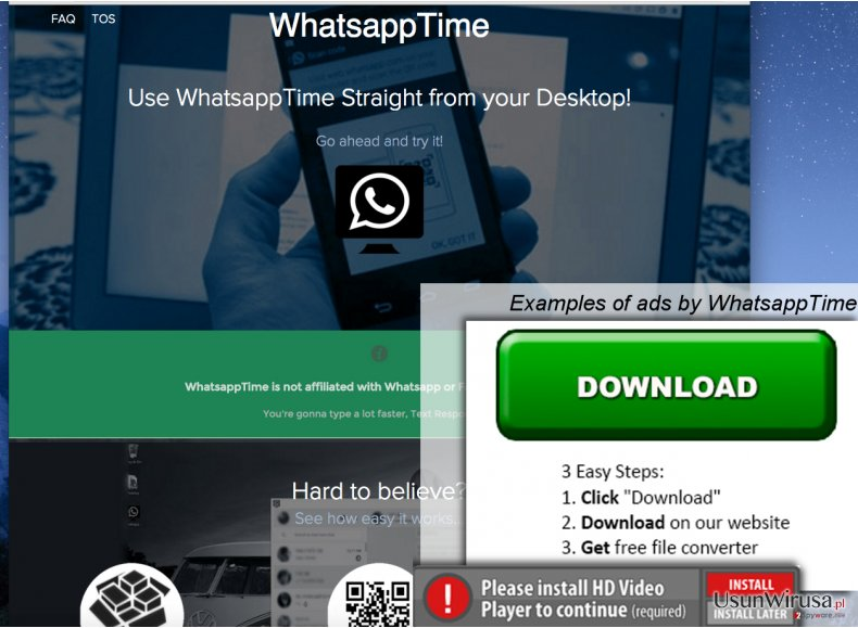 WhatsappTime hijack