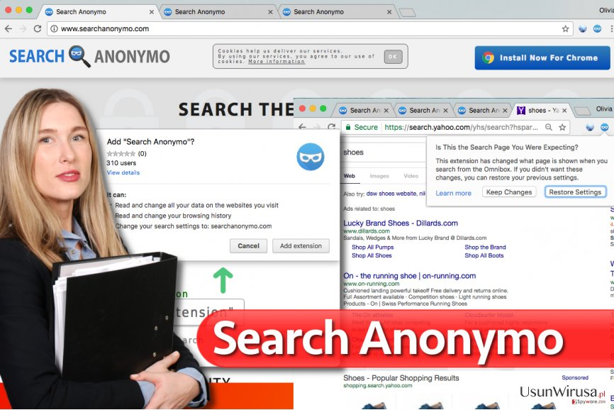 Wirus Search Anonymo