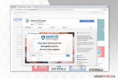 Obrazek przedstawiający Search Encrypt