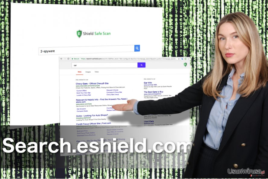 Search.eshield.com redirect