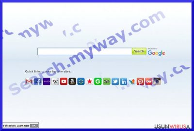 Search.myway.com virus