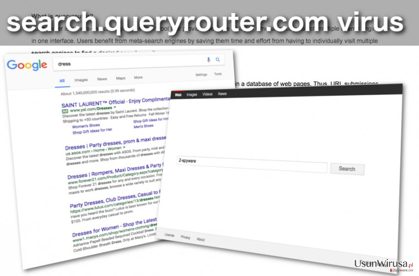 Obraz porywacza przeglądarek Search.queryrouter.com