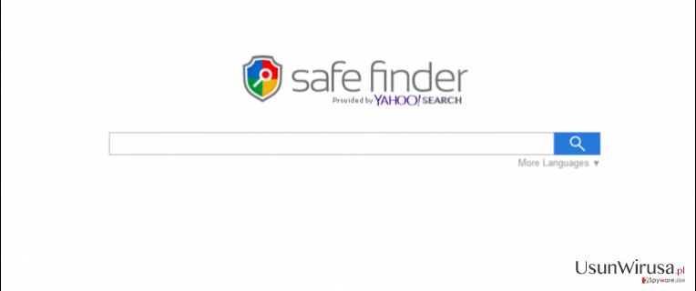 Search.SafeFinder.com snapshot