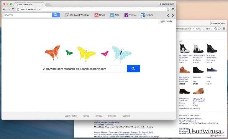 Search.searchlf.com scammy search provider
