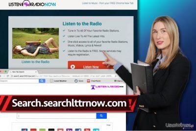 Znajdź wirusa Search.searchlttrnow.com