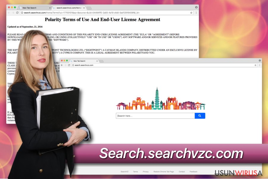 Niechciany program Search.searchvzc.com
