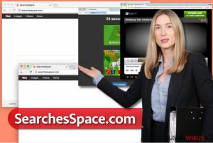 Wirus SearchesSpace.com