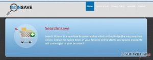 SearchNSave virus