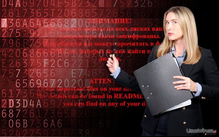 Shade ransomware snapshot