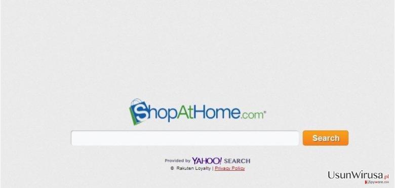 ShopAtHome.com snapshot