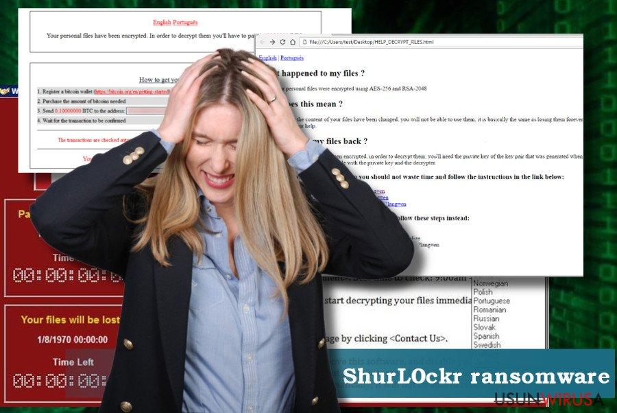 Instrukcja usuwania wirusa ShurL0ckr