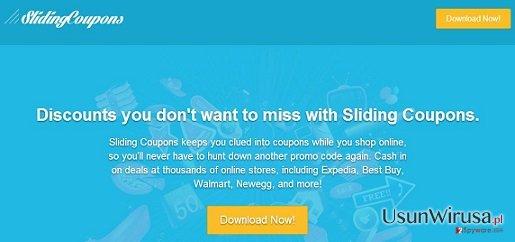Reklamy Sliding Coupons snapshot