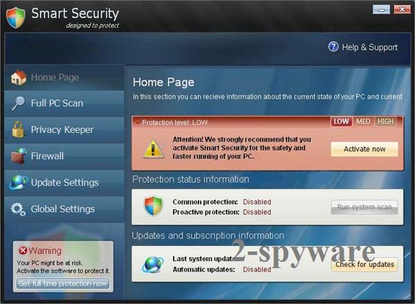 WIrus Smart Security snapshot