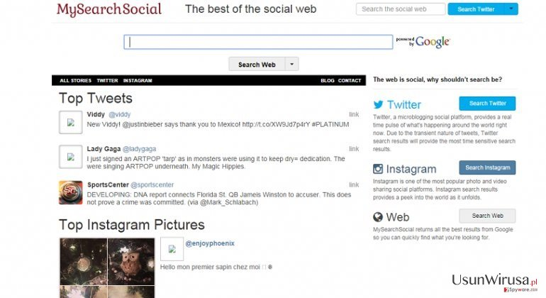 Smartwebsearch.mysearchsocial.com snapshot