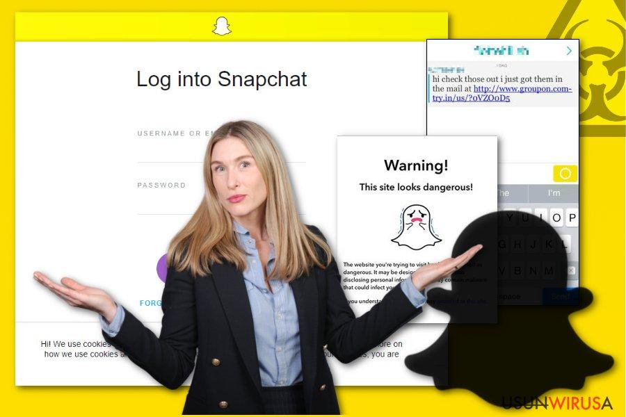 obrazek malware Snapchat