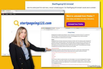 Obraz wirusa StartPageing123.com