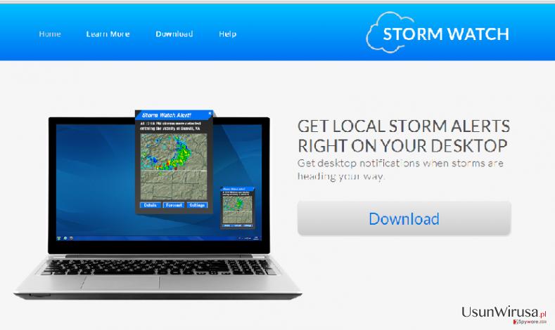 Reklamy StormWatch snapshot