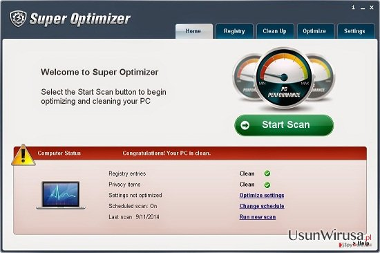 Super Optimizer snapshot