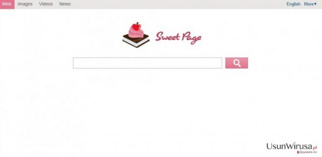 Sweet-page.com snapshot