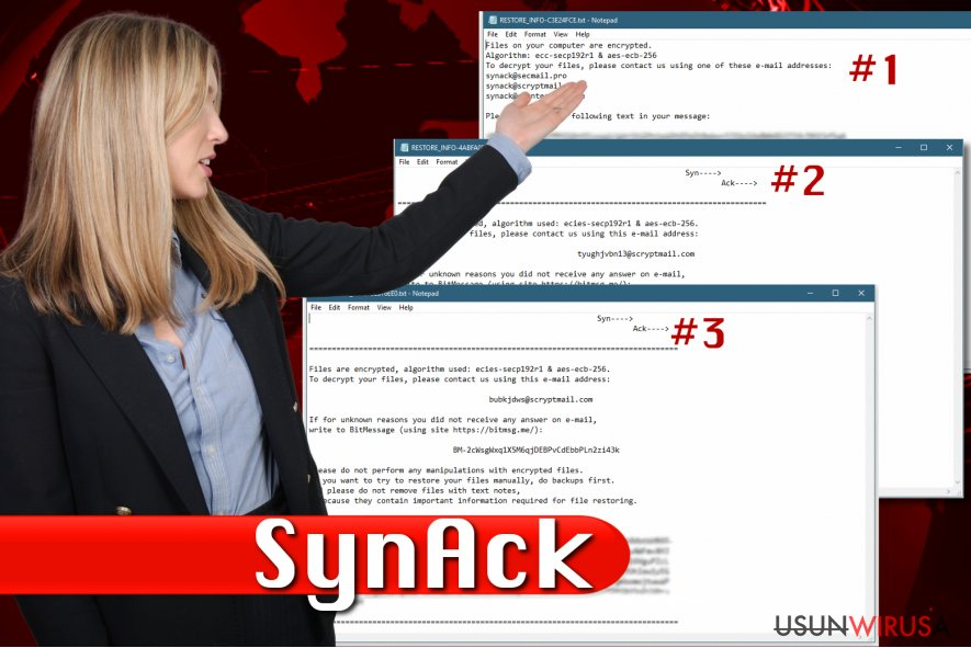 Wirus ransomware SynAck