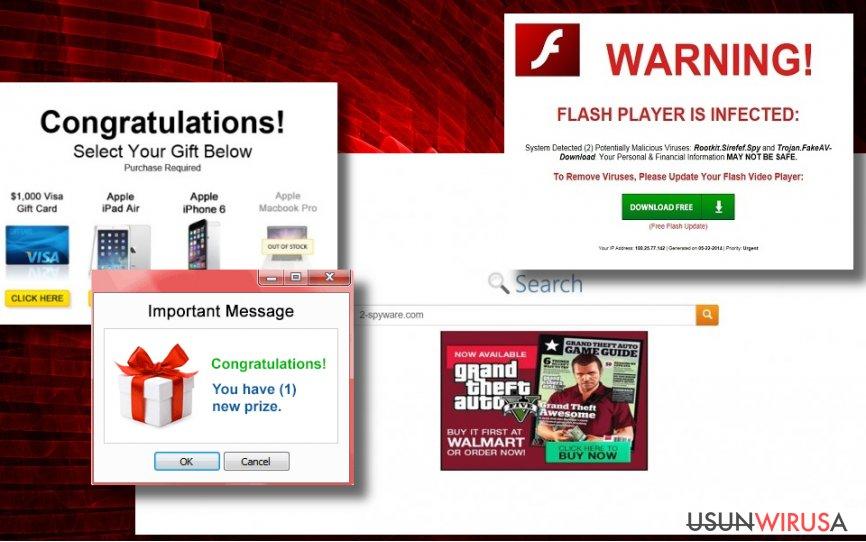 Przykład reklam tags.bluekai.com