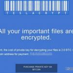 TeslaCrypt 2.0 snapshot