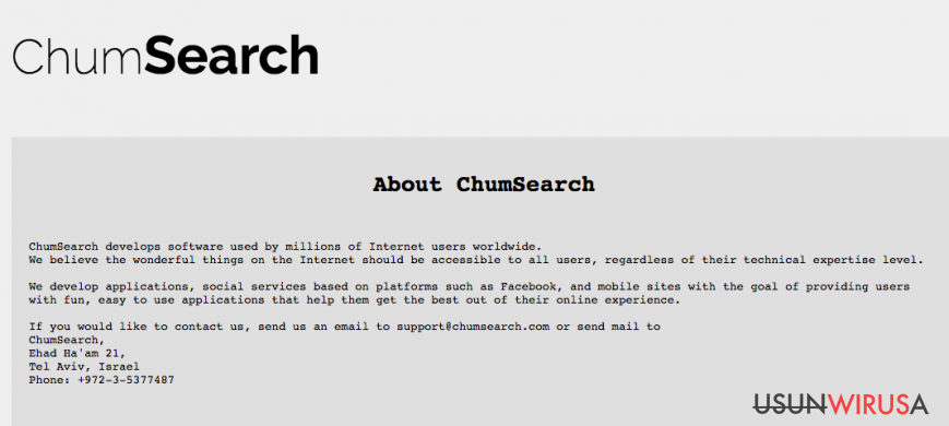 Chumsearch.com
