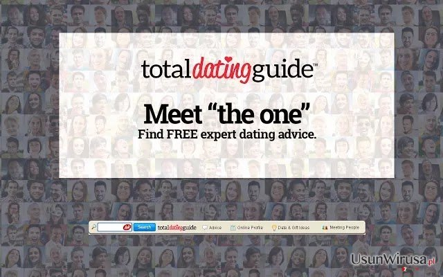 Total Dating Guide Toolbar snapshot