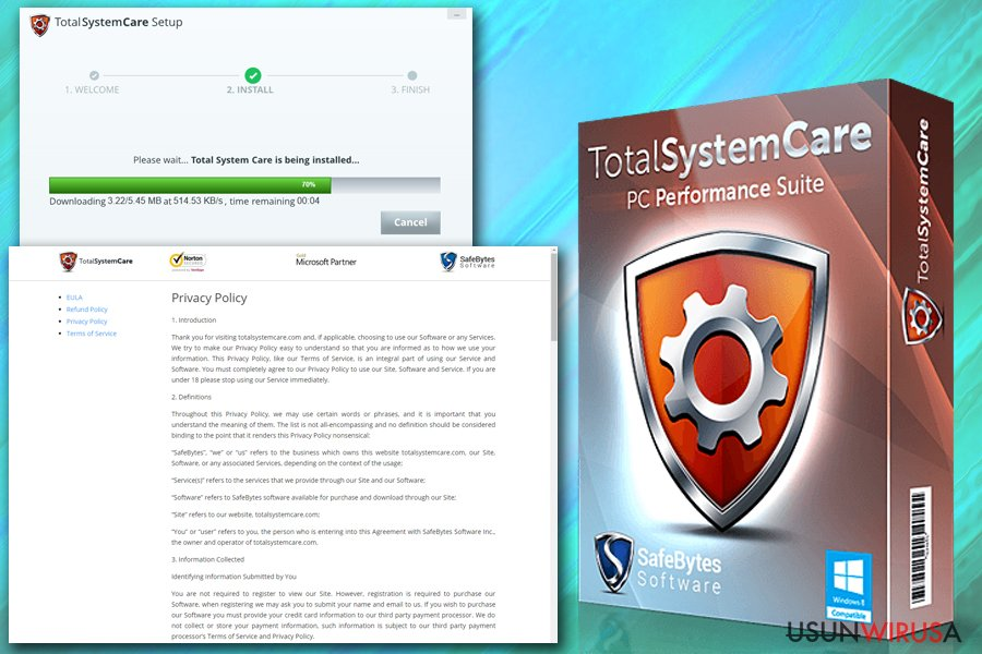 Total System Care snapshot