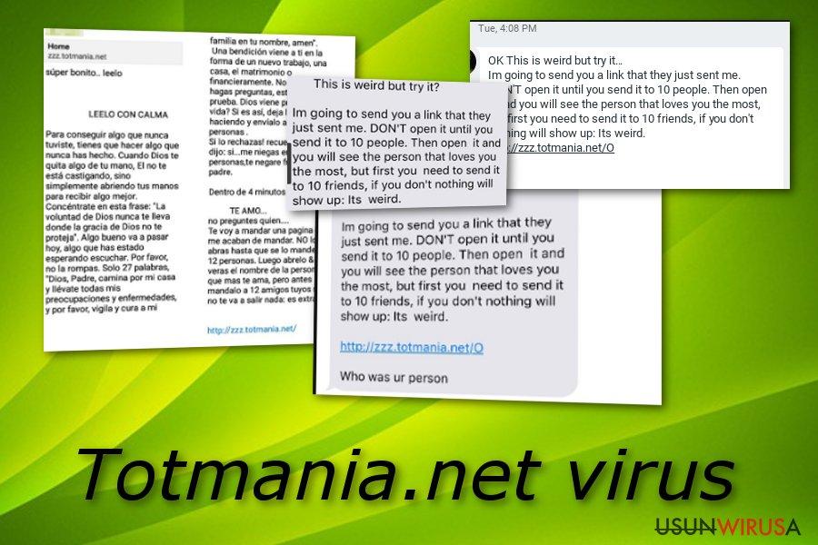 Totmania.net snapshot