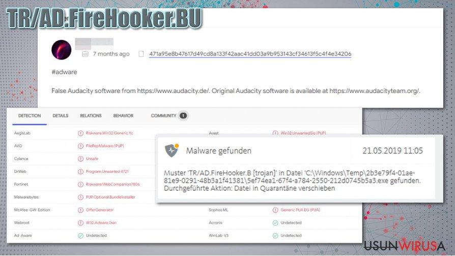 Dystrybucja TR/AD.FireHooker.BU