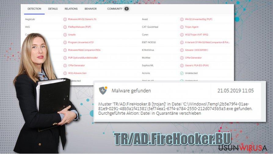 Wirus TR/AD.FireHooker.BU