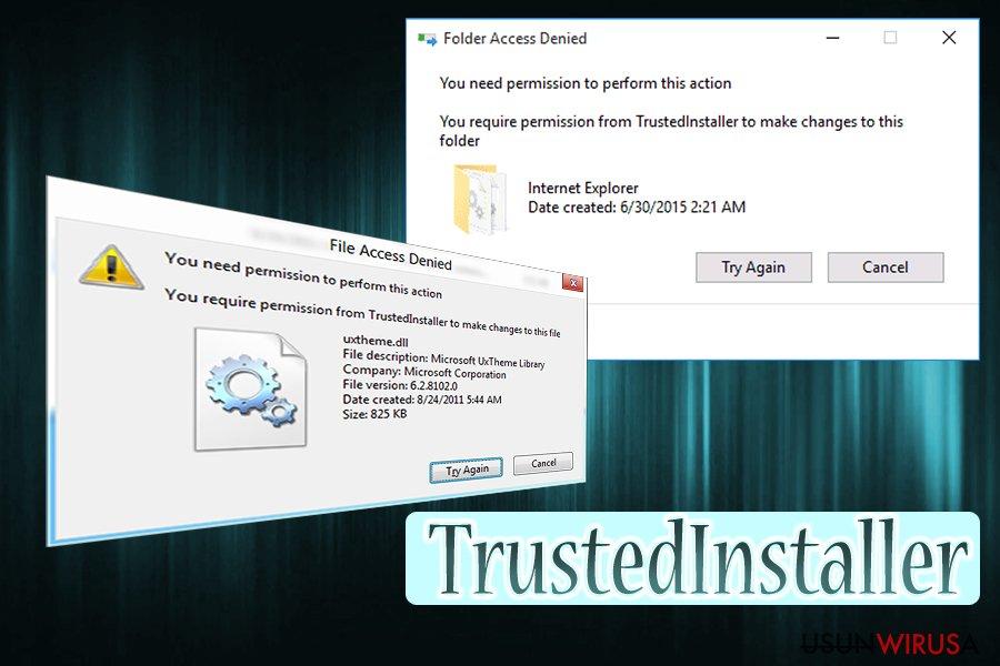 Wirus TrustedInstaller