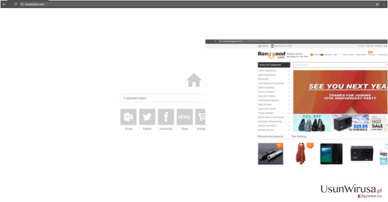 Wirus Trustedstart.net snapshot