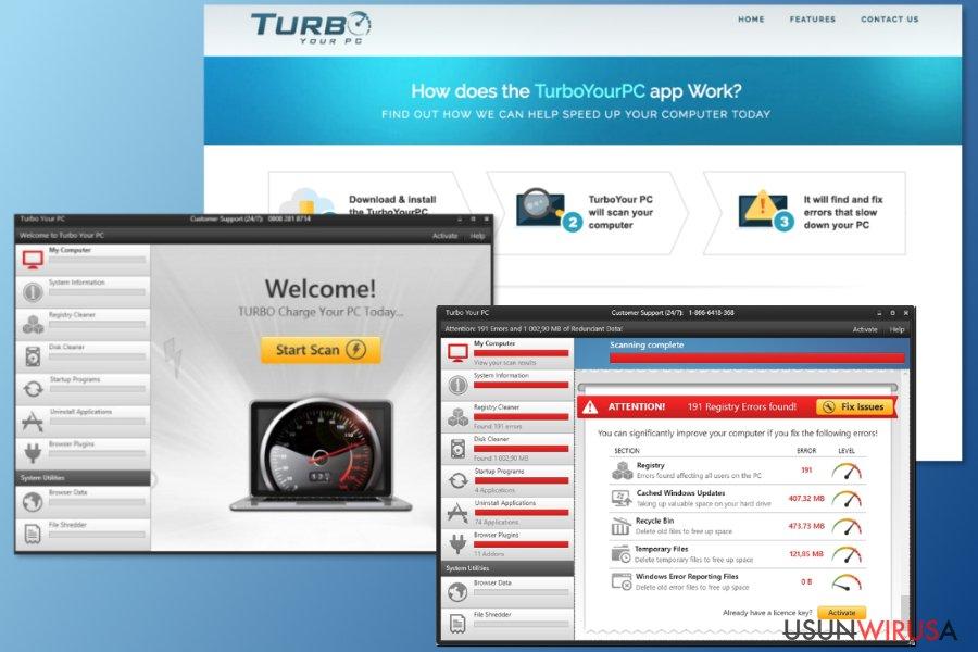 Obrazek pokazujący Turbo Your Pc