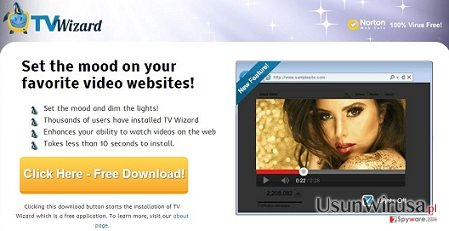 Oprogramowanie TV Wizard snapshot