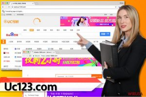 Wirus Uc123.com