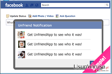 UnfriendTool snapshot