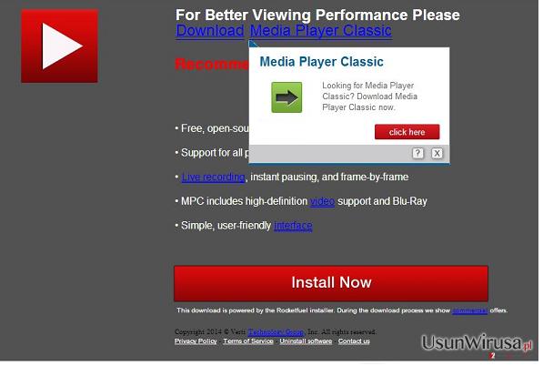 Reklamy Updates.com snapshot