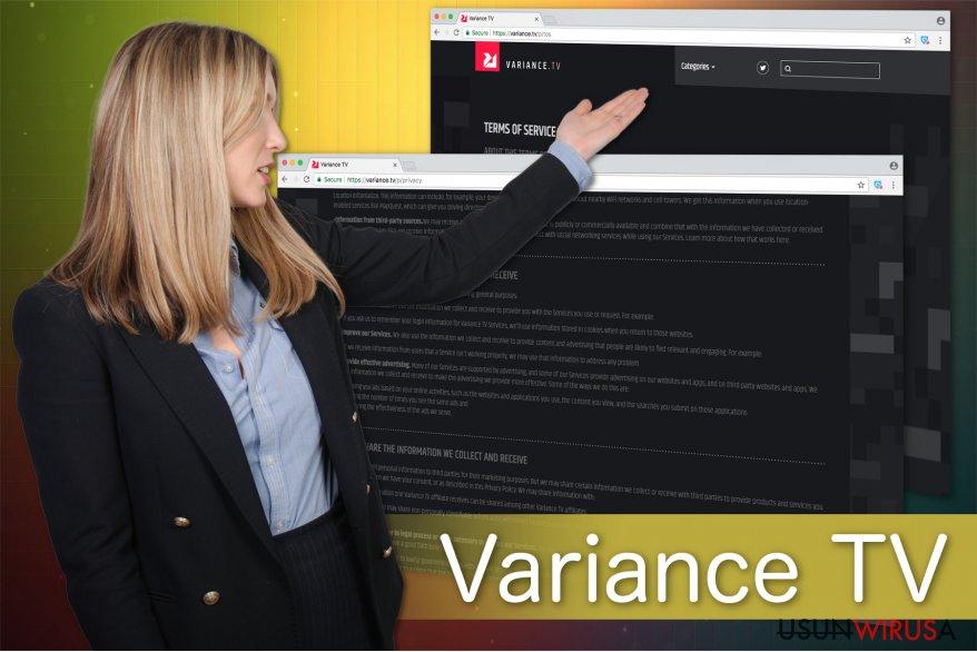 Prezentacja wirusa Variance TV