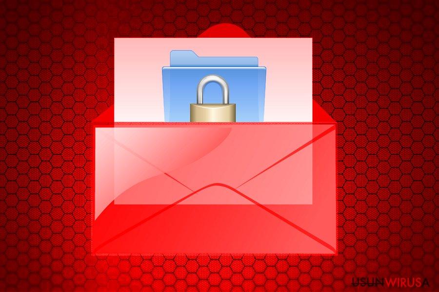 Wirus ransomware Wallet snapshot