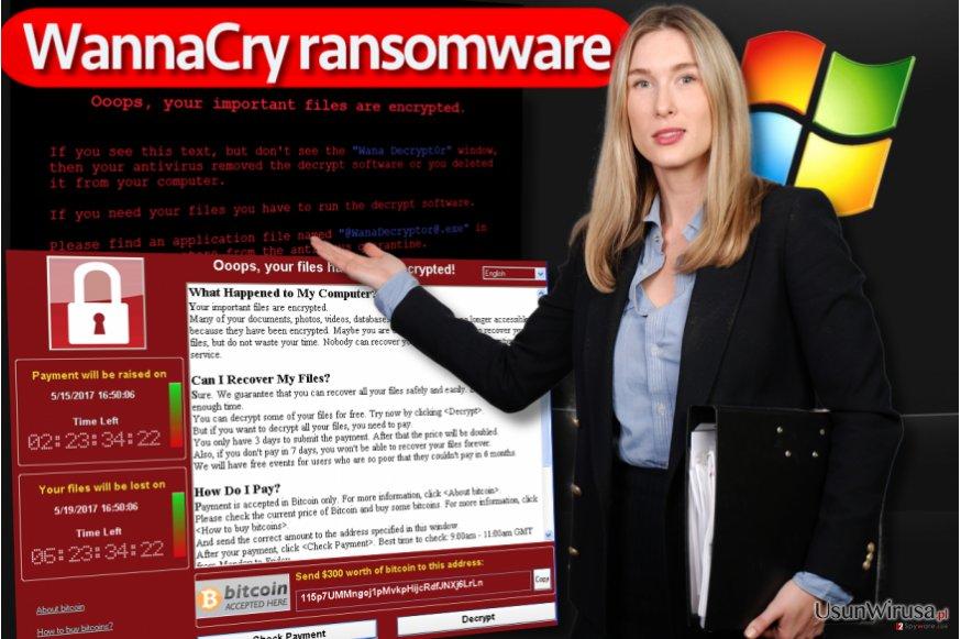 Oprogramowanie WannaCry