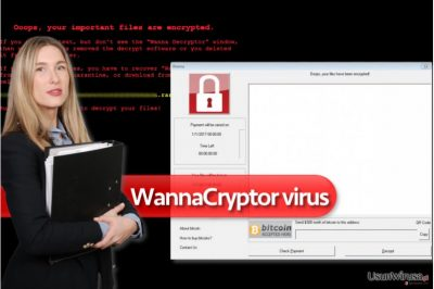 Wirus ransomware WannaCryptor
