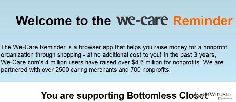 We-care Reminder snapshot