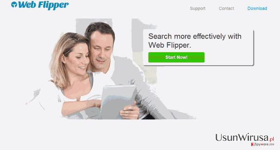 Web Flipper ads snapshot