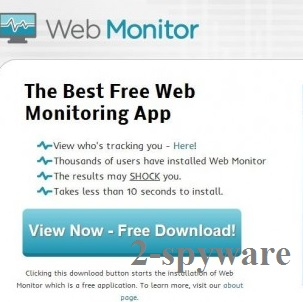 Web Monitor snapshot