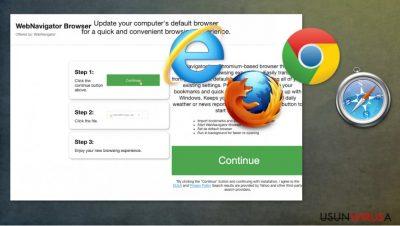 Porywacz przeglądarki WebNavigatorBrowser
