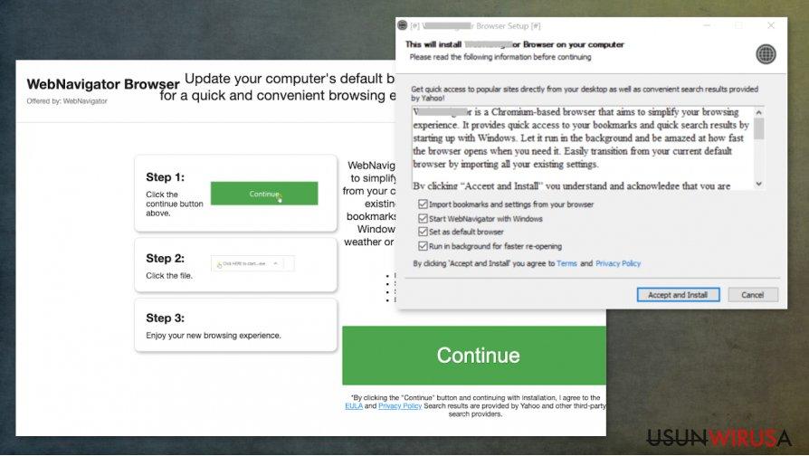 Potencjalnie niechciany program WebNavigator