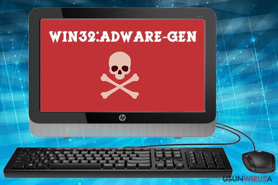 Win32:Adware-gen virus